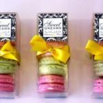 Macaron não pode faltar na festa com tema Paris.