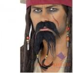 Barbas e bigodes diferentes - Decorada com Adereços