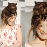 Penteados estranhos - Urso