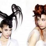 Penteados estranhos - Formato de Animais