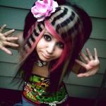 Penteados estranhos - Listras Coloridas