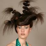 Penteados estranhos: fotos