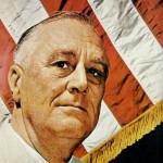 Franklin Roosevelt - Poliomielite, doença que o deixou com dificuldades de movimentos. Utilizava cadeira de rodas