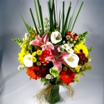 Arranjo de flores - Priavera