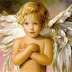 Anjo Criança, evidenciando a pureza e inocência dessas criaturas divinas
