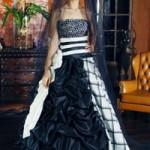 Vestido de Noiva -  Xadrez