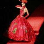 Vestido de Noiva -  Vermelho