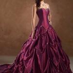 Vestido de Noiva - Bordô