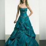 Vestido de Noiva - Verde