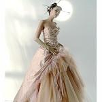 Vestido de Noiva - Salmão