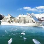 Navio Seven Seas Navigator - Cruzeiro de seis estrelas com um navio de super luxo.