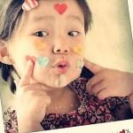 Existe maneira mais criativa de pedir beijinhos?