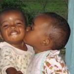 Beijo gostoso, 'recheado' de carinho