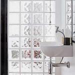 Tijolos de vidro na decoração formas de usar, fotos 9