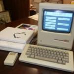 O primeiro Macintosh, lançado em 1984