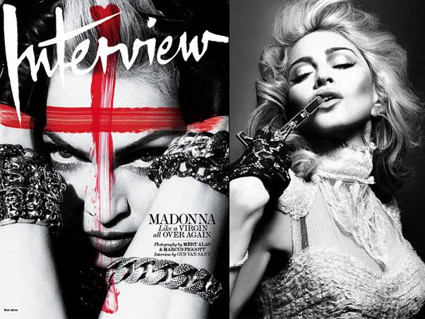 """Madonna e as """"reinvenções"""" de sua carreira."""
