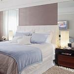 As escolha das cores é indispensável na decoração do quarto pequeno.