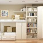 A harmonia dos elementos é indispensável na decoração de quarto pequeno.