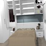 Os móveis planejados são ótimos para solucionar o problema da falta de espaço.
