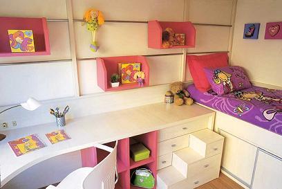 O aconchego e segurança é indispensável no quarto de criança.