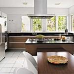 Cozinha moderna, cheia de estilo e personalidade.