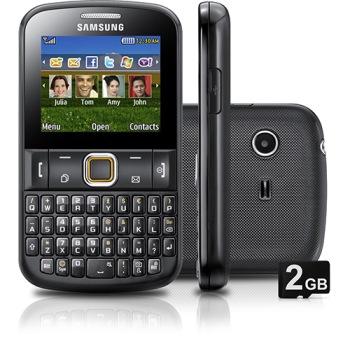 celular da Samsung Ch@t 222 (Foto: Divulgação)