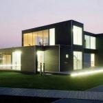Os conceitos arquitetônicos modernos valorizam o estilo contemporâneo.