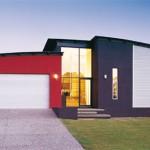 Cores e texturas dão um show a parte nas fachadas modernas.