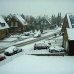 Krefeld - Alemanha no Inverno.