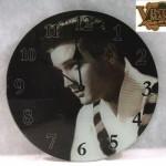 Relógio de parede do Elvis por R$ 69,90 na Vintage Mania.