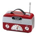 Rádio vintage por R$90,00 na Benedixt.