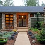 O uso de pedra é a principal caracteristica nesse tipo de construção.