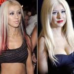 Christina Aguilera em 2011 entrou para o time das siliconadas.