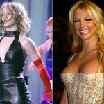 Britney Spears em 2012 exibe sua nova performance.