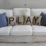 Almofadas deixam o sofá com mais personalidade.