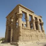 Templo da Deusa Ísis, na ilha de Philae, em Aswan.