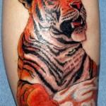 A tatuagem de tigre é a preferida dos homens. (Foto: divulgação)