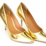 Sapatos metalizados: como usar