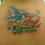 Beija Flor - Entre os seus principais significados estão a liberdade, renascimento, sorte, celebração e alegria.