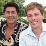 André Ramos e Bruno Chateaubriand são casados há onze anos. (Foto: divulgação)