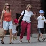 A atriz Jodie Foster foi casada durante quinze anos com a produtora  Cydney Bernard.  (Foto: divulgação)