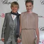 Ellen Degeneres e Portia de Ross (Foto: divulgação)