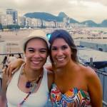 Sarah Oliveira e Maria Gadú juntas em Copa. (Foto: divulgação)