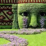 A topiaria permite transformar o jardim numa verdadeira obra de arte.