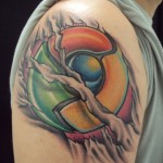 Tatuagem 3D perfeita no antebraço. (Fotos: divulgação)