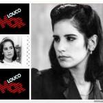 """1983 - """"Louco Amor"""" como Cláudia (Fotos: divulgação)"""