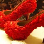 """Sapatos de """"Chayene"""" da novela Cheias de Charme. (Foto: divulgação)"""