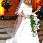 Famosas vestidas de noiva: fotos