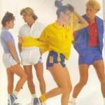 Foi com reflexos na geração saúde que os anos 80 mudaram o conceito de moda. (Foto: divulgação)
