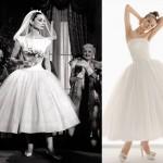 O vestido de Audrey Hepburn inspiração para muitas noivas entre eles o modelo da coleção Aire Barcelona. (Foto: divulgação)